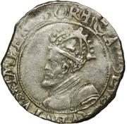 Carolus (type 2 : à l'écu échancré) - Philippe IV – avers