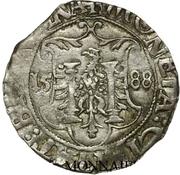 Carolus (type 2 : à l'écu échancré) - Philippe IV – revers