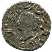 1 Rupee - Queen Victoria (Bharatpur) – avers