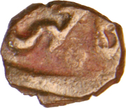 1 Trambiyo - Bhavsinhji I Ratanji under Shah Jahan III -  revers