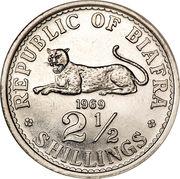 2½ shillings – revers