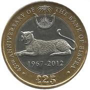25 Biafra Shillings – revers