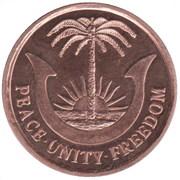 1/2 Penny – revers