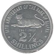 2½ Shillings – avers
