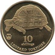 10 Shillings (Leopard Tortoise) – revers