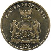 10 shillings (Autruche) – avers