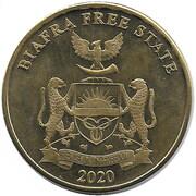 10 shillings (Zèbre) – avers