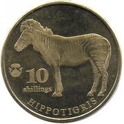 10 shillings (Zèbre) – revers