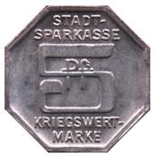 5 pfennig - Bielefeld (Stadtsparkasse) – revers