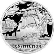 1 rouble (Constitution) -  revers