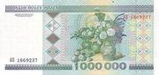 1 000 000 Rublei – revers