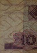 10 rublei -  avers
