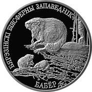 1 rouble (Castor) – revers