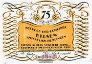75 Pfennig (Bilsen) – avers