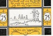 75 Pfennig (Bilsen) – revers
