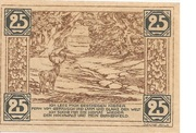 25 Pfennig (Land Birkenfeld) – revers