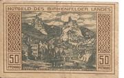 50 Pfennig (Birkenfeld) – revers