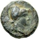Bronze Æ12 (Bisanthe) – avers