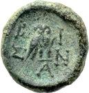 Bronze Æ12 (Bisanthe) – revers