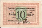 10 Heller (Bischofshofen) – revers