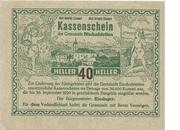 40 Heller (Bischofstetten) -  avers