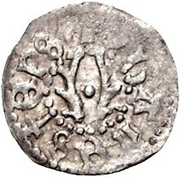 1 pfennig Johannes II Bertkow – avers