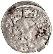 1 pfennig Johannes IV Duesborg (épée gauche; clé droite) – revers