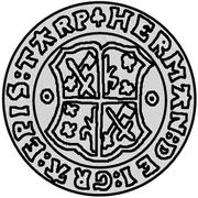 ½ mark Hermann II Wesel – avers