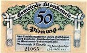 50 Pfennig (Blankenese) – avers