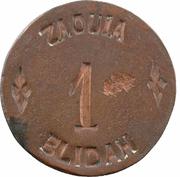 1 Franc (Zaouïa de Blida) – avers