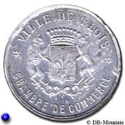 10 centimes Ville de Blois [41] – avers