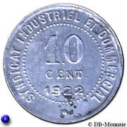 10 centimes Ville de Blois [41] – revers