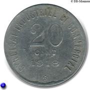 20 centimes Ville de Blois [41] – revers