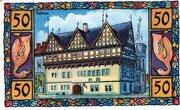 50 Pfennig (Blomberg in Lippe) – revers