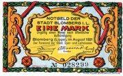 1 Mark (Blomberg in Lippe) – avers