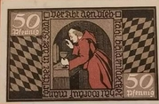 50 Pfennig  Blomberg – revers