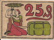 25 Pfennig (Blumenthal in Hannover) -  revers