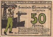 50 Pfennig (Blumenthal in Hannover) – avers