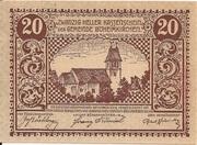 20 Heller (Böheimkirchen) – avers