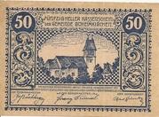 50 Heller (Böheimkirchen) – avers