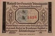 25 Pfennig  Bönningstedt – avers