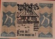 25 Pfennig  Bönningstedt – revers