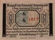 50 Pfennig  Bönningstedt – avers