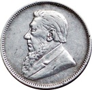 2 shillings (Zuid-Afrikaansche Republiek) – avers