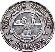 2 shillings (Zuid-Afrikaansche Republiek) – revers