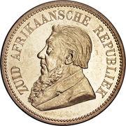 2½ shillings (Zuid-Afrikaansche Republiek) – avers