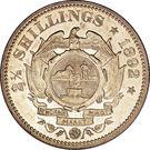 2½ shillings (Zuid-Afrikaansche Republiek) – revers