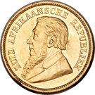 ½ pond (Zuid-Afrikaansche Republiek) – avers