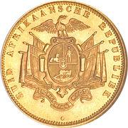 1 pond (Zuid-Afrikaansche Republiek) – revers