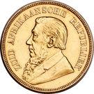 1 pond (Zuid-Afrikaansche Republiek) – avers